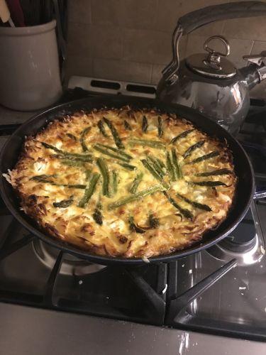 Gluten-Free Asparagas Frittata