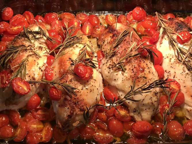 Rosemary Roasted Chicken Breast